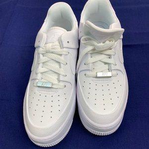 New Nike AF-1 OG Court Shoes White Size 8 Low Top